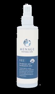 Xịt lau rửa khử mùi diệt khuẩn – MENAGE SEI -
